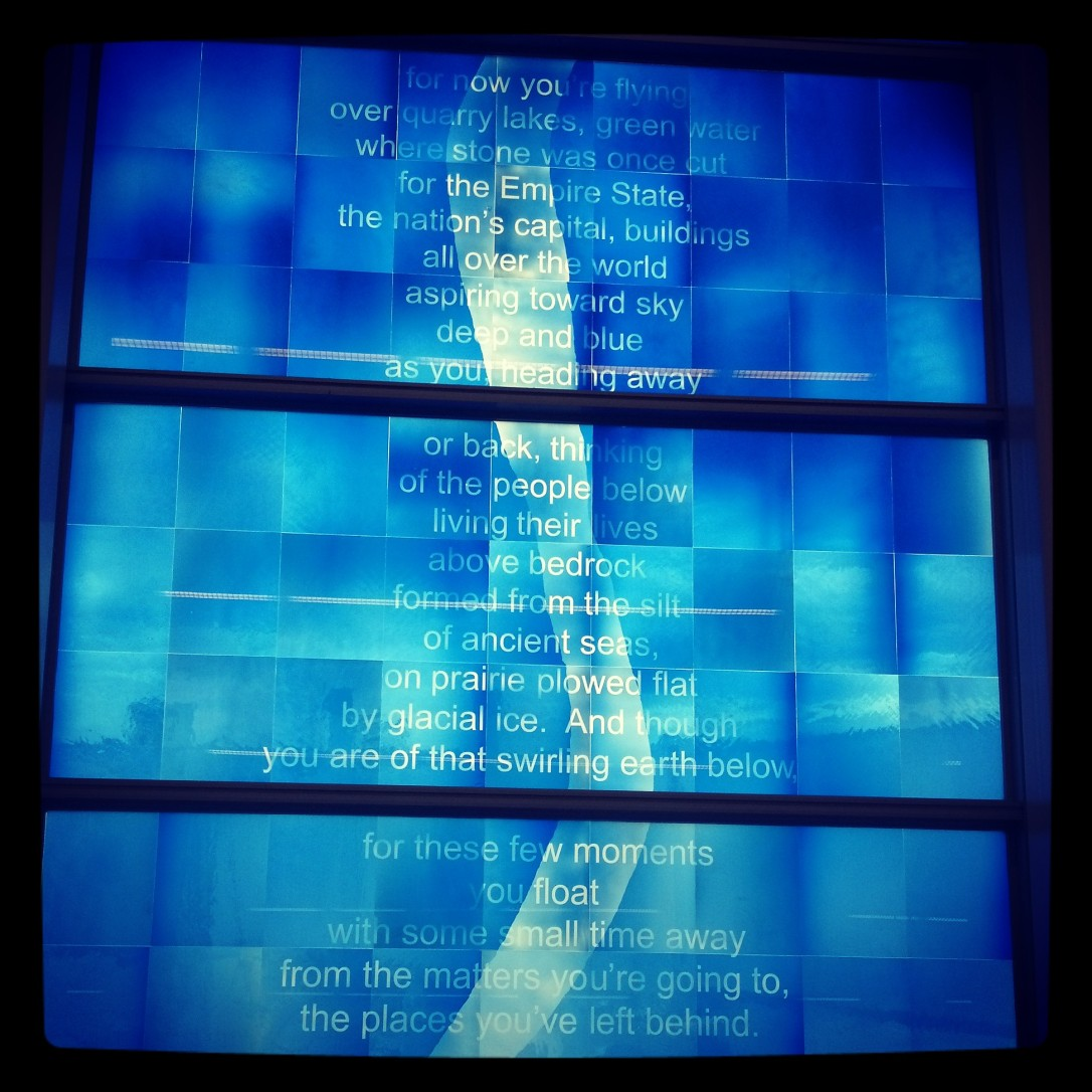 indy airport poem