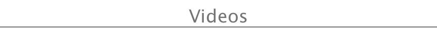 videos header