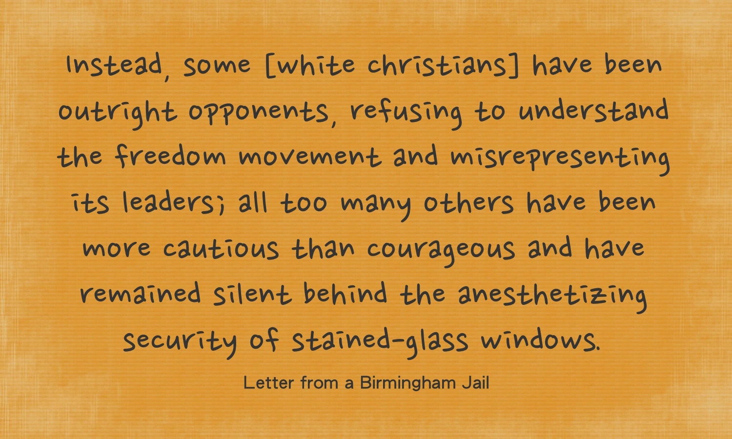 Quotes From Mlk Letter From Birmingham Jail: Why Black History Is For White Folks, Too: A Reflection On